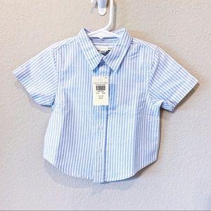 POTTERY BARN KIDS  Button Down Shirt NYT
